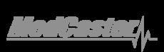 MedCaster Logo: Grey