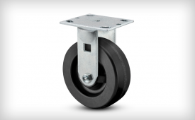 E-Line Phenolic Wheel on Rigid Caster