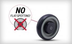 SuperKat Wheel - No Flat-Spotting!