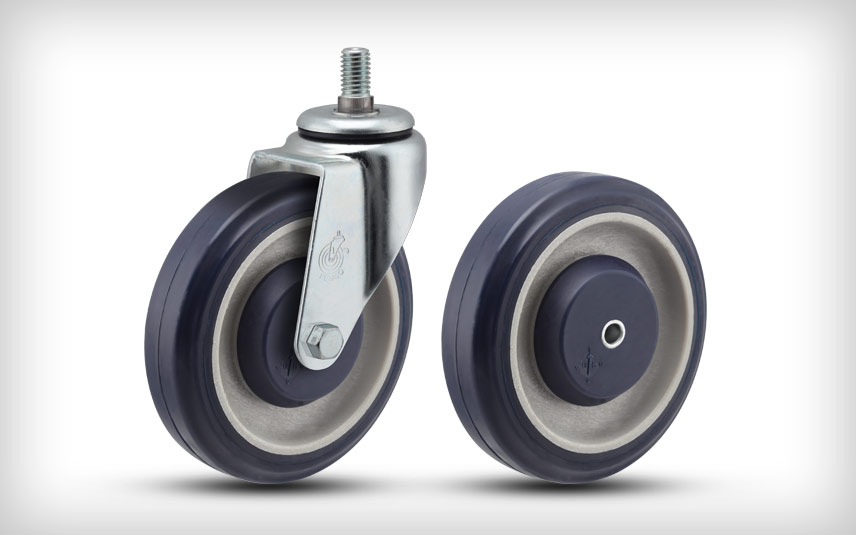 PolyKat Shopping Cart Casters and Wheels | Pemco Casters